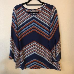 Chico's relaxed flow top